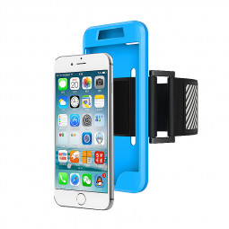 Universal Sports Running Exercise Armband Holder for iPhone 7 - Blue