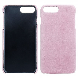 Fashion Protective Case Fur Phone Case for iPhone 7 Plus - Pink
