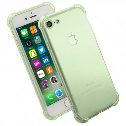 Shockproof Protective Phone Case Cover for iPhone 7 - Green