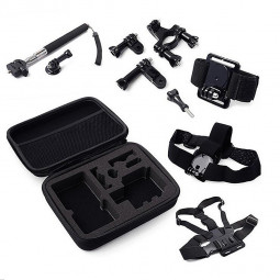 7 in 1 Outdoor Sports Essentials Kit for GoPro Hero 4 3 3+