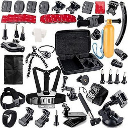 62 in 1 Outdoor Sports Essentials Kit for GoPro Hero 4 3 3+