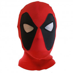 Halloween Mask Cosplay Costume Lycra Spandex Mask - Red