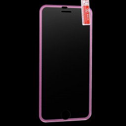 3D Tempered Glass Screen Protector Film with Curved Edge for iPhone 6/6s Plus - Rose Red