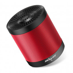 S5 Bluetooth 4.0 Wireless Wired Stereo Speaker Subwoofer Audio Receiver - Black + Red