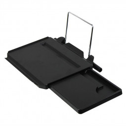 Car Folding Computer Desk with Drawers Holder Slot for iPad