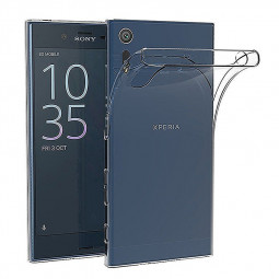 Transparent Crystal Clear TPU Soft Cover Case Skin for Sony Xperia XZ