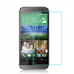 Tempered Glass Screen Protector Rounded Edge for HTC One M8
