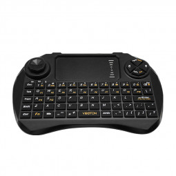 2.4G Wireless Keyboard Remote Control with Touchpad