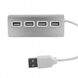 High Speed 4 Port USB 2.0 Multi Hub Splitter Expansion Adapter