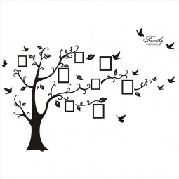 Large Family Memory Tree Wall Decal Sticker Photo Home Decor