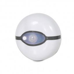 Elf Ball Style Auto Sensor Bathroom Toilet Seat Night Light - White