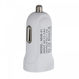 USB Port Car Charger Power Adapter for iPhone Smartphone