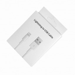 8pin to USB Cable Packing Box for iPhone Series 5/6/7/8/7plus/8plus Data Cable(Box Only)
