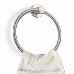 Stainless Steel Bathroom Toilet Roll Holder Towel Ring Set