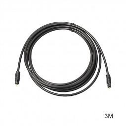 3M Premium Gold Plated Digital Audio Optical Fiber Cable