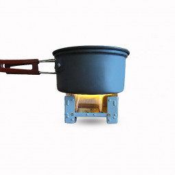 Portable Folding Outdoor Travel Solid Alcohol Stove