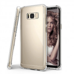 Ultra Slim Clear Shockproof Bumper TPU Case Cover for Samsung S8 Plus