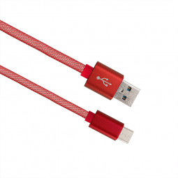 1M Type C USB Data Charging Cable for Samsung Huawei - Red