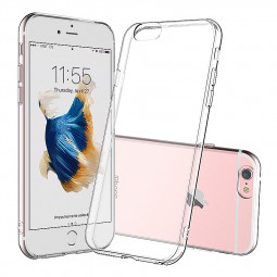 Ultra-thin Transparent Soft TPU Cover Phone Case for iPhone 6 / 6S 4.7 Inch