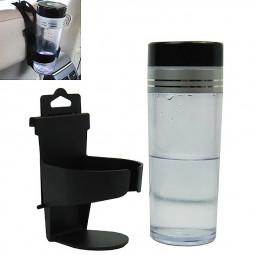 Adjustable Hanger Car Cup Bottle Drinks Holder Hang On Car Back Seat - Black