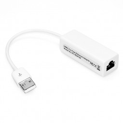 USB 2.0 Male to 10/100 Megabit RJ45 Ethernet LAN Network Adapter for PC Laptop