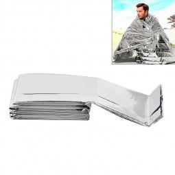 Outdoor Waterproof Emergency Survival Rescue Keep Warm Foil Thermal Space Blanket