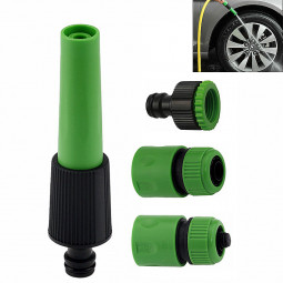 4 Pcs Garden Pipe Tap Connector Fitting Water Attachments Nozzle Starter