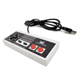 Wired USB Gaming Controller Joystick For NES Gamepad PC MAC Tablet Gamer