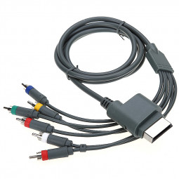 1.8m Component AV Connect Cable for XBOX 360 Gamepad Console