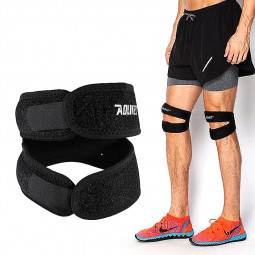 1pcs Knee Support Neoprene Patella Adjustable Protect Pad Strap Brace Band