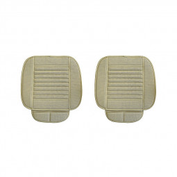 General Four Seasons Car Seat Cushion Bamboo Charcoal Infill Car Seat Covers - Beige
