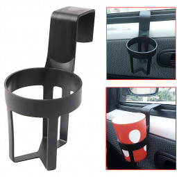 Universal Car Truck Door Cup Mount Stand Beverage Drink Can Bottle Holder