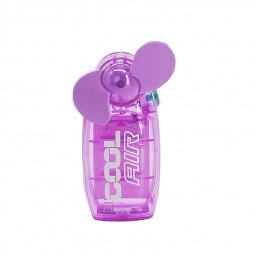 Mini Portable Pocket Fan Cool Air Hand Held Summer Fan Travel Blower - Purple