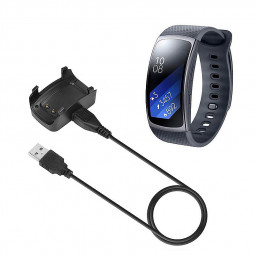 USB Charging Cradle Charger Cable for Samsung Gear Fit 2 SM-R360 Smart Watch