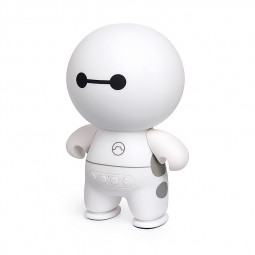 Wireless Bluetooth Mini Speaker Mini Stereo Audio Doll Cartoon Speaker - White