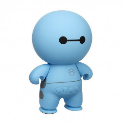 Wireless Bluetooth Mini Speaker Mini Stereo Audio Doll Cartoon Speaker - Blue