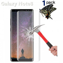 Samsung Galaxy Note 8 3D Curved Full Coverage Tempered Glass Screen Protector - Transparent