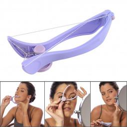 Women's Face Body Hair Threader Removal Threading Facial Epilator Hair Remover