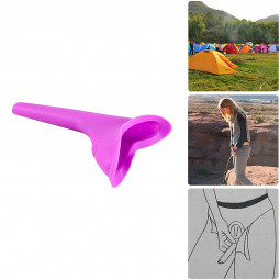 Outdoor Camping Womans Ladies Female Urine Funnel Urinal Portable Toilet Device