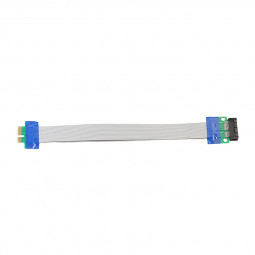 PCI Express Flex Relocate Cable PCI-E 1X to 1x Slot Riser Card Extender Extension Ribbon for Bitcoin Miner