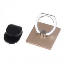 Mini Ring Stent Mount Finger Bracket Holder For iPhone Android Phone - Gold