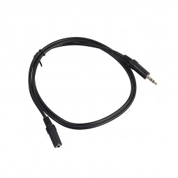 3.5mm Audio Extension Cable Male to Female Stereo Cord for Headphone Speaker - 0.5M