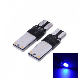 T10 COB Decoding Car Interior LED Bulb Width Blue Light
