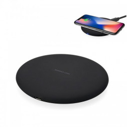 KC-N5 Qi Fast Wireless Charger Charging Dock Pad for iPhone X/8/8 Plus Samsung Galaxy S8/S7 - Black