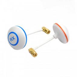 Right Angle SMA Female 5.8G Mushroom Style Circular Polarized Antenna(Tx+ Rx)
