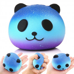 Jumbo Slow Rising Squishy Squeeze product Stress Reliever Gift - Panda