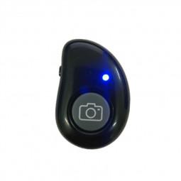 Mango Bluetooth Selfie Wireless Controller Camera Remote Shutter for Selfie Sticks - Black