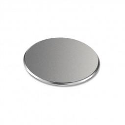 Magnetic Grind Metal Car Holder Plate for Magnet Phone Mount Stand - Grey
