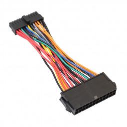 ATX PSU Standard 24Pin Female to Mini 24P Male Internal Power Adapter Converter Cable