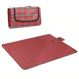 180x150CM Outdoor Beach Picnic Mat Folding Waterproof Camping Sleeping Pad - Red